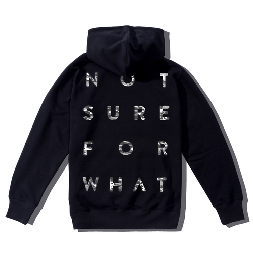 NSFW stands for Not Sure For What black hoodie from 9GAG shop Screen reader support enabled.
