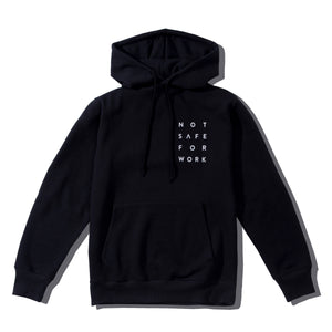 NSFW Not Sure For What Hoodie - Black