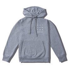 Load image into Gallery viewer, NSFW Clothing hoodie in grey color