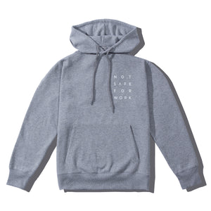 NSFW Clothing hoodie in grey color