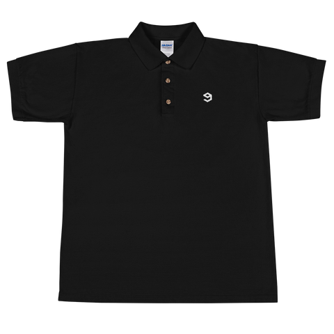 Embroidered Logo Polo - 9GAG Shop