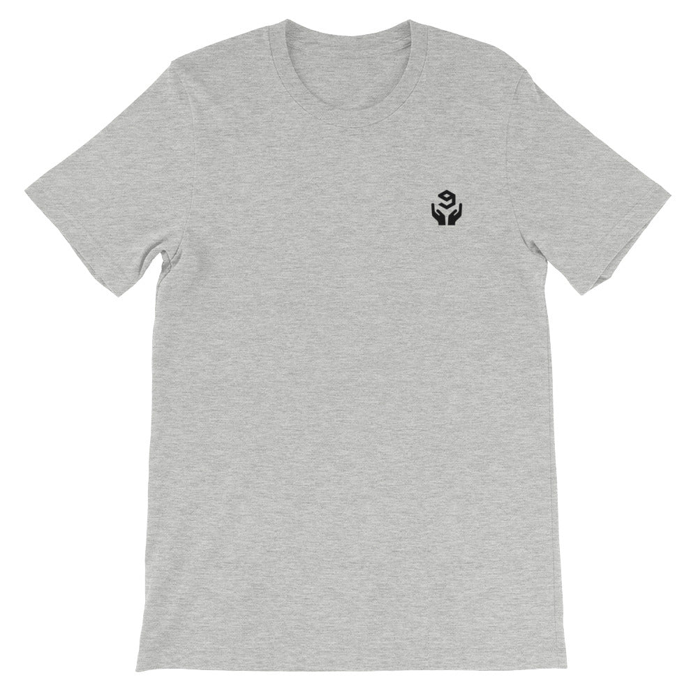 9GAG Union Tee dank grey color for 9gaggers - 9GAG Shop