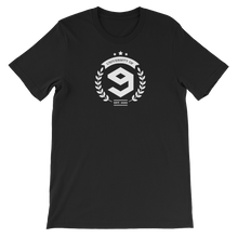 Load image into Gallery viewer, 9GAG University Tee in ace black color for gag pro users