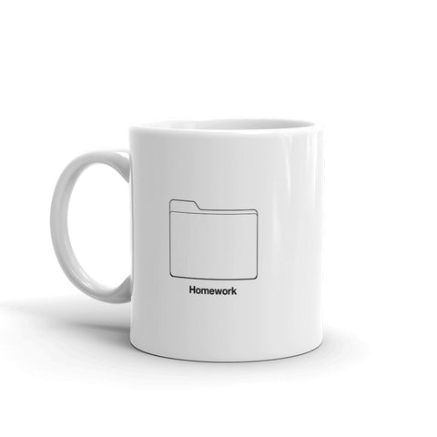 Homework Folder Mug - 9GAG Shop