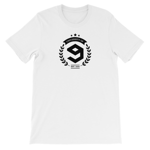 9GAG University Tee with print in Freshers' white color