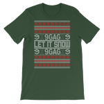 Good Looking Let It Snow Christmas Sweater Tee