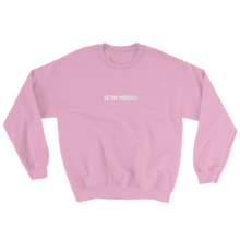 Load image into Gallery viewer, Go Fun Yourself virgin pink sweater from 9GAG Shop streetwear
