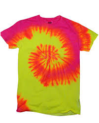 5000TD Short Sleeve Rainbow Tie-Dye T-Shirt