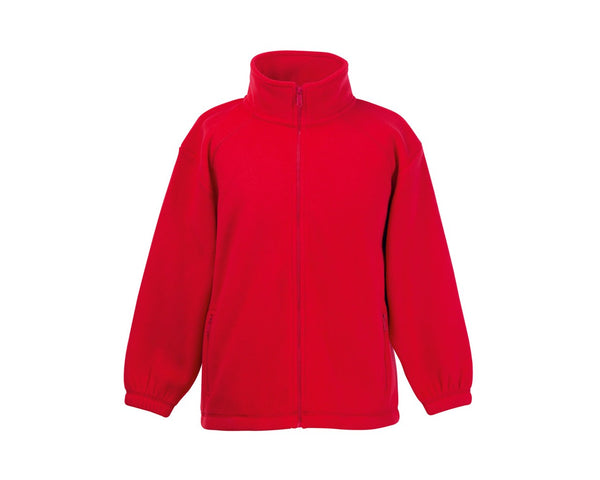 62511 Fruit Of The Loom Children's Full Zip Outdoor Fleece