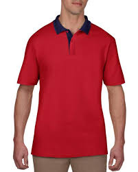 6280 Anvil Adult Double Pique Polo