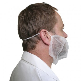 Disposable PP Beard Cover 500 Pk