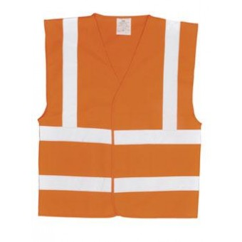 Hi-Vis Vest with FR Finish