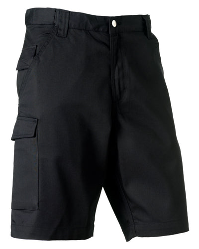 002M Russell Polycotton Twill Shorts