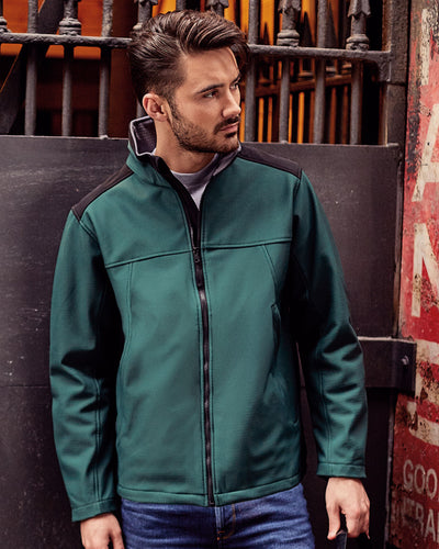Russell Adults' Workwear Softshell Jacket