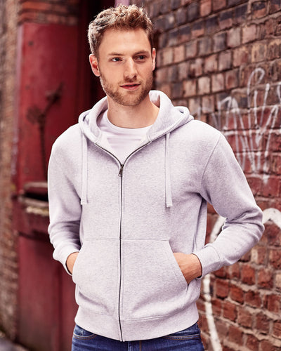 266M Russell Men's Authentic Zipped Hood