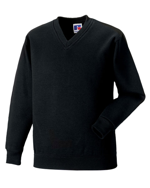 272M Russell Adult V-Neck Sweatshirt