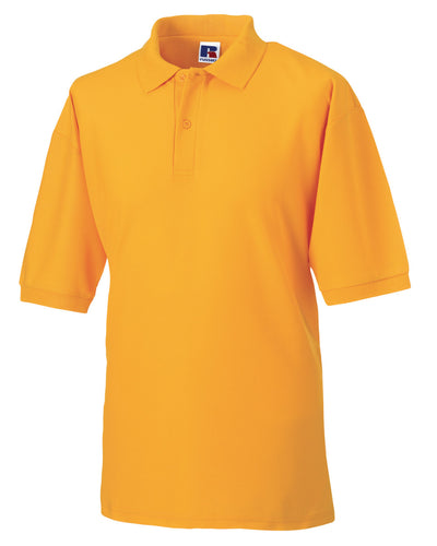 539M Russell Men's Classic Polycotton Polo