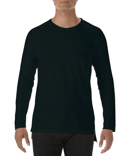 5628 Anvil Adult Lightweight Long & Lean Long Sleeve Raglan Tee