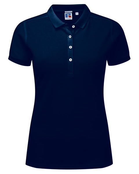 566F Russell Ladies' Stretch Polo