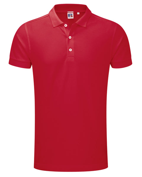566M Russell Men's Stretch Polo