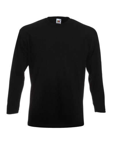 61042 Fruit Of The Loom Men's Super Premium Long Sleeve T-Shirt