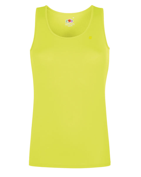 61418 Fruit Of The Loom Ladies' Performance Vest