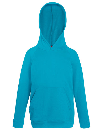 62009 Fruit Of The Loom Children's Lightweight Hooded Raglan Sweat