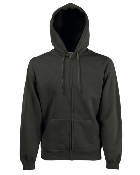 62034 Fruit Of The Loom Men's Premium Hooded Sweat Jacket