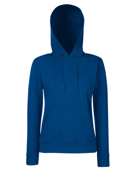62038 Fruit Of The Loom Lady-Fit Classic Hooded Sweat