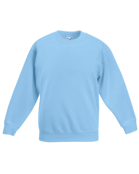 62041 Fruit Of The Loom Children's Classic Set-In Sleeve Sweatshirt