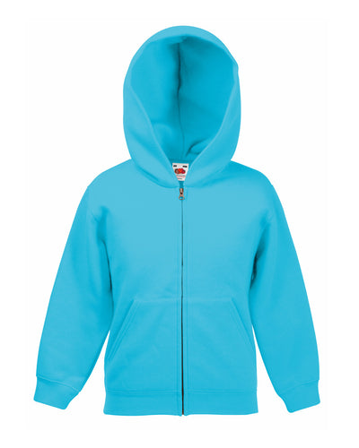62045 Fruit Of The Loom Children's Classic Hooded Sweat Jacket