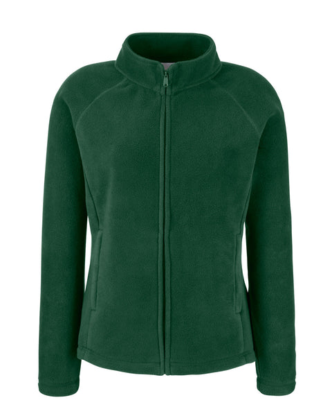 62066 Fruit Of The Loom Lady-Fit Full Zip Fleece