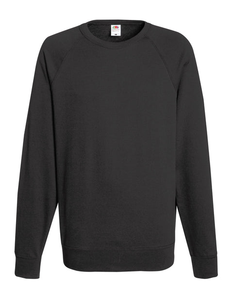 62138 Fruit Of The Loom Men's Lightweight Raglan Sweat