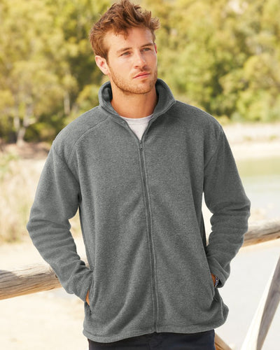 62510 Fruit Of The Loom Men's Full Zip Fleece