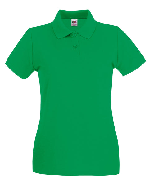 63030 Fruit Of The Loom Lady-Fit Premium Polo