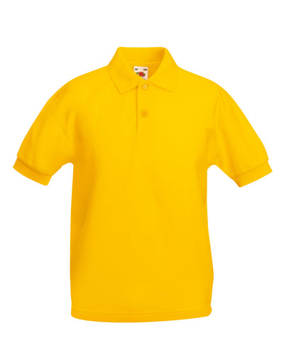 63417 Fruit Of The Loom Children's 65/35 Polo