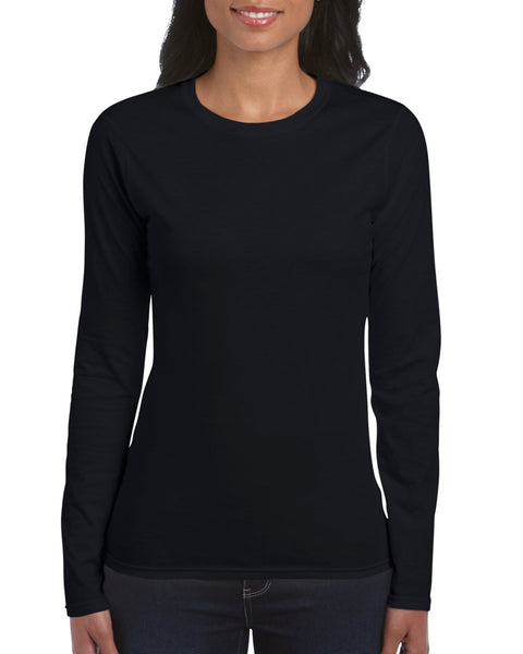 64400L Gildan Softstyle® Ladies' Long Sleeve T-Shirt