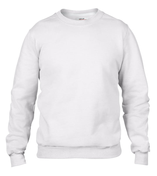 71000 Anvil Ladies' Crewneck Fleece Sweatshirt