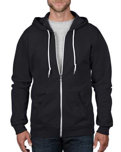 71600 Anvil Adult Full Zip Hooded Sweatshirt