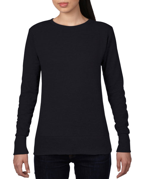 72000L Anvil Women's Mid-Scoop French Terry Sweatshirt