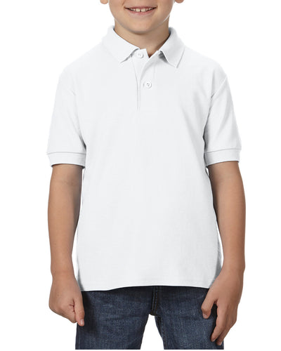 72800B Gildan DryBlend® Youth Double Piqué Polo