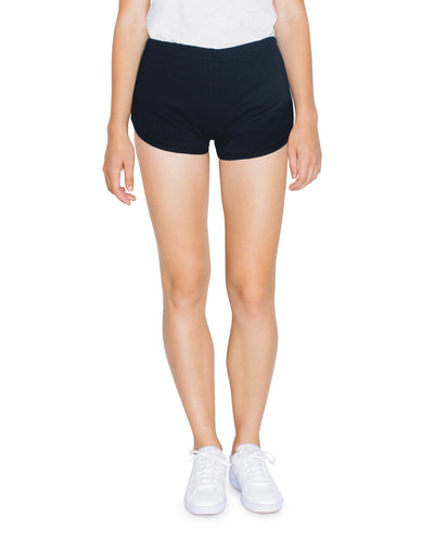 7301W American Apparel Women's Interlock Running Shorts