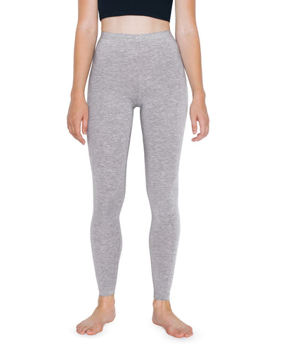 8328W American Apparel Women's Cotton Spandex Jersey Leggings