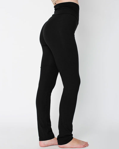8375W American Apparel Women's Cotton Spandex Yoga Pant