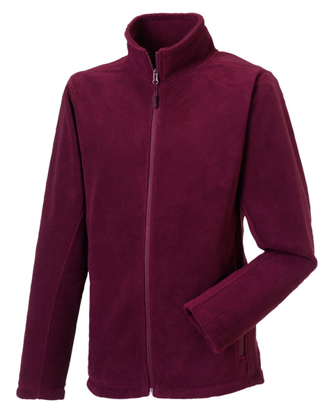 8700M Russell Men's Full Zip Outdoor Fleece