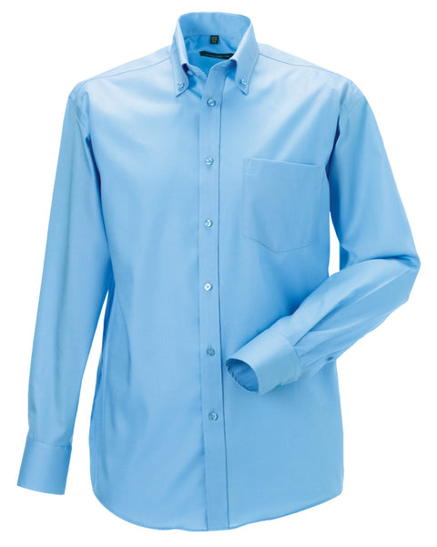 956M Russell Collection Men's Long Sleeve Ultimate Non-Iron Shirt