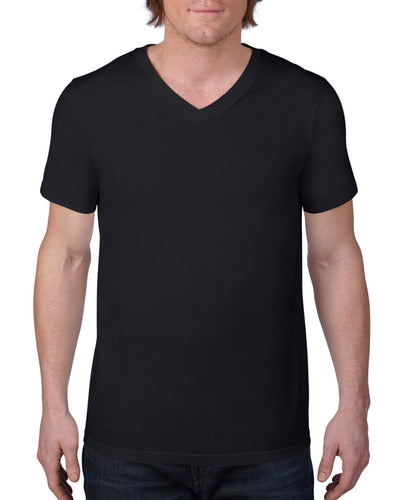 982 Anvil Adult Lightweight V-Neck Tee