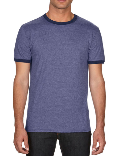 988 Anvil Adult Lightweight Ringer Tee