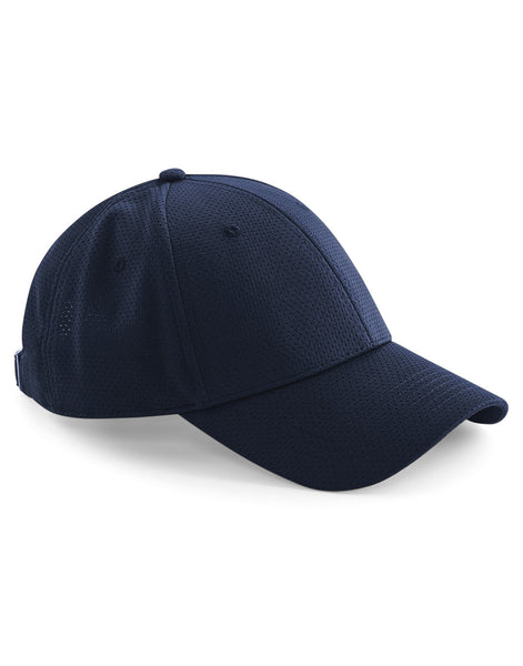 B196 Beechfield  Air Mesh 6 Panel Cap