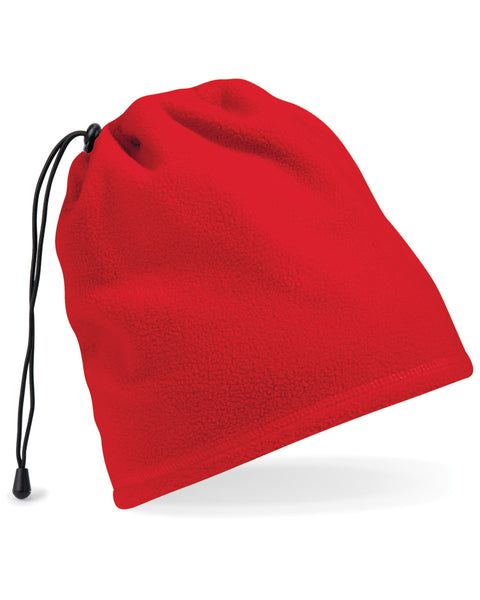 B285 Beechfield  Suprafleece™ Snood/Hat Combo